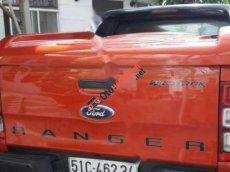 Bán Ford Ranger 2 cầu, màu vàng cam, đời 2014.