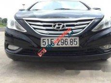 Bán Hyundai Sonata AT đời 2011, màu đen đã đi 65000 km