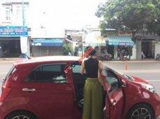 Cần bán xe Kia Morning Si đời 2014, màu đỏ số tự động, 342tr