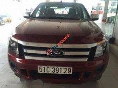 Cần bán xe Ford Ranger XLS AT đời 2014, màu đỏ số tự động, giá 528tr