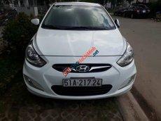 Cần bán gấp Hyundai Accent AT sản xuất 2011, xe đẹp