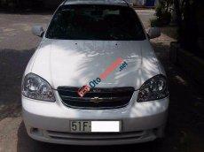 Cần bán Daewoo Lacetti đời 2008, màu trắng