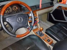 Bán Mercedes E230 đời 1989, màu xám (ghi), nhập khẩu chính hãng