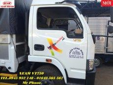 Xe Veam VT750 7.5 tấn, xe tải Veam VT750 7.5T thùng mui bạt