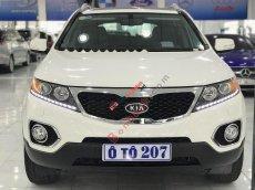 Cần bán lại xe Kia Sorento AT sản xuất 2014, màu trắng