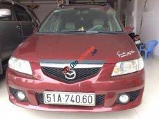 Cần bán xe Mazda Premacy AT đời 2003, màu đỏ