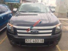 Bán Ford Ranger XLS AT đời 2014, màu đen số tự động