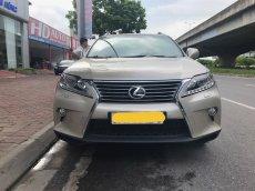 Cần bán Lexus RX350 2014, màu vàng, xe nhập Nhật đăng ký 2014