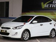 Bán Hyundai Accent Hatchback 1.4AT 2013, trắng, xe nhập, giá chỉ 446 triệu