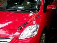 Bán xe Toyota Vios E đời 2010, màu đỏ
