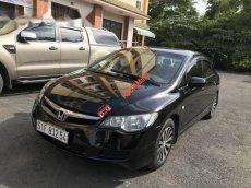 Cần bán xe Honda Civic MT đời 2008, màu đen, giá chỉ 310 triệu