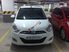 Cần bán Hyundai i10 đời 2011, màu trắng, nhập khẩu nguyên chiếc giá cạnh tranh