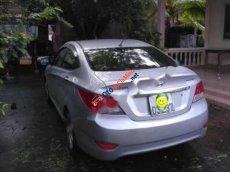 Bán ô tô Hyundai Accent 1.4 AT sản xuất 2011, màu bạc, nhập khẩu nguyên chiếc số tự động