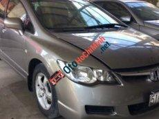 Bán Honda Civic MT đời 2007, màu bạc như mới