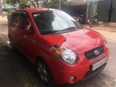 Cần bán lại xe Kia Morning SLX đời 2008, màu đỏ, nhập khẩu Hàn Quốc số tự động