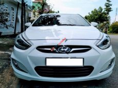 Chính chủ bán Hyundai Accent 1.4 AT đời 2013, màu trắng, nhập khẩu