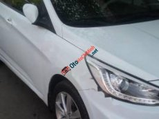 Bán Hyundai Accent 1.4 AT đời 2013, màu trắng, nhập khẩu