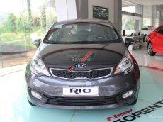 Bán xe Kia Rio GAT đời 2017, màu xám (ghi), nhập khẩu chính hãng, giá chỉ 510 triệu