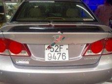 Bán Honda Civic 1.8 MT sản xuất 2008, màu bạc số sàn