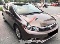 Cần bán xe Honda Civic 1.8AT năm 2013, màu nâu, hỗ trợ trả góp