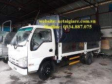 Bán xe tải Isuzu 3.49 tấn (3t49) thùng dài 4.3m, hỗ trợ trả góp