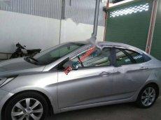 Bán Hyundai Accent 1.4 AT đời 2011, màu bạc, nhập khẩu nguyên chiếc số tự động