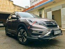 Bán Honda CR V 2.4 2015, màu nâu, 800 triệu