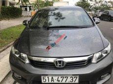 Cần bán lại xe Honda Civic 1.8 AT sản xuất năm 2013, màu xám