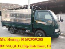 Cần bán xe tải Hàn Quốc 2 tấn 4 - Xe tải Kia K165 - Xe tải chạy trong thành phố