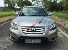 Cần bán xe Hyundai Santa Fe SLX sản xuất 2009, màu bạc