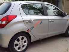 Bán Hyundai i20 AT sản xuất 2012, màu bạc, xe nhập