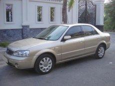 Cần bán gấp Ford Laser 1.8AT năm 2005, màu vàng