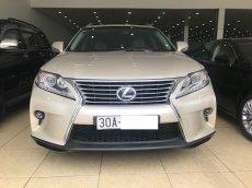 Bán Lexus RX350 Luxury vàng cát sản xuất 2015 đăng ký 2015 Biển Hà Nội