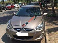 Cần bán xe Hyundai Accent 1.4 AT 2011, màu xám, nhập khẩu, 350 triệu