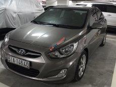 Chính chủ cần bán gấp xe Hyundai Accent 1.4 AT sản xuất 2011 còn mới đẹp, màu nâu
