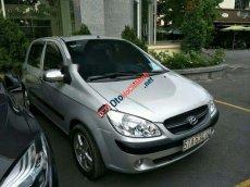 Cần bán gấp Hyundai Getz 1.4AT sản xuất năm 2009, màu bạc, giá tốt