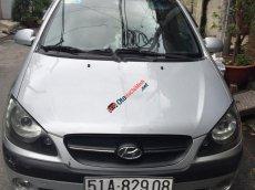 Bán Hyundai Getz 1.1 MT 2009, màu bạc, nhập khẩu, giá tốt