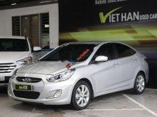 Cần bán lại xe Hyundai Accent 1.4 AT năm sản xuất 2013, màu bạc, xe nhập, giá 438tr