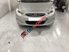 Cần bán Hyundai Accent Blue  1.4AT 2013, màu bạc, nhập khẩu Hàn Quốc