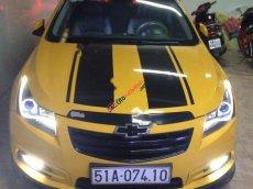 Cần bán gấp Chevrolet Cruze LS 1.6 MT năm sản xuất 2011, màu vàng