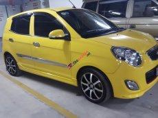 Cần bán xe Kia Morning LX đời 2012, màu vàng, xe nhập, nữ lái