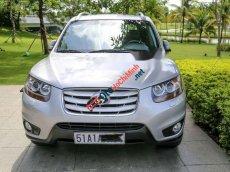 Cần bán gấp Hyundai Santa Fe SLX năm 2009, màu bạc, xe nhập, 695 triệu