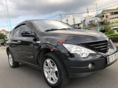 Cần bán xe Ssangyong Rexton II đời 2008, màu đen, xe nhập số tự động, 370 triệu