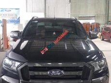 Cần bán Ford Ranger Wildtrack 3.2 đời 2017, màu đen, xe nhập