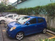 Bán xe Kia Morning SLX đời 2009, màu xanh lam, nhập khẩu nguyên chiếc