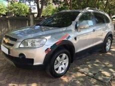 Cần bán lại xe Chevrolet Captiva LT sản xuất 2009, màu bạc chính chủ, giá 335tr