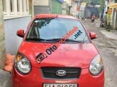 Bán Kia Morning SLX đời 2009, màu đỏ, xe nhập