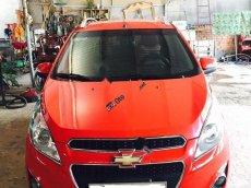 Cần bán lại xe Chevrolet Spark LT 1.0 MT 2015, màu đỏ số sàn