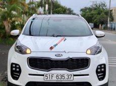 Cần bán Kia Sportage 2.0 AT năm sản xuất 2015, màu trắng, chạy 25000km