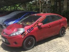 Bán Ford Fiesta AT đời 2011, màu đỏ, còn rất mới, Bstp